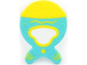 Dětské kousátko flexibilní Baby Mix zmrzlina