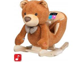 Houpací hračka PlayTo medvídek hnědá