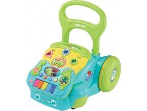 Dětské hrající edukační chodítko Baby Mix modré