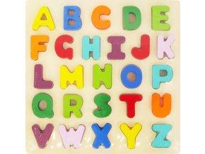 Dětské dřevěné puzzle Baby Mix Písmena