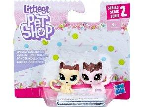 Littlest Pet Shop Frosting Frenzy 2 zvířátka Kočičky