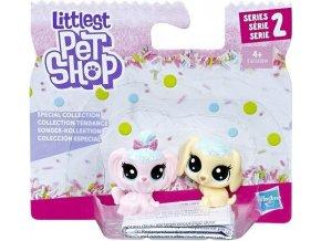 Littlest Pet Shop Frosting Frenzy 2 zvířátka Pejsci