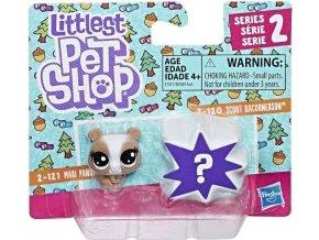Littlest Pet Shop Dvě zvířátka Mari Pandalyn & Scoot Racoonerson