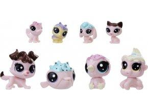 Littlest Pet Shop Frosting Frenzy zvířátka 8 v balení