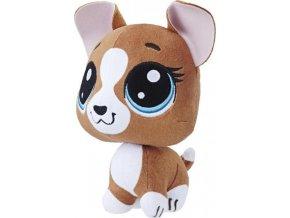 Littlest Pet Shop Plyšové zvířátko Roxie McTerrier