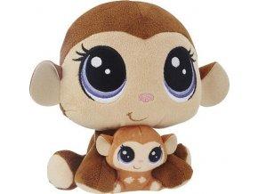 Littlest Pet Shop Duo plyšových zvířátek Mona a Merry Junglevine