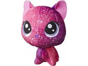 Littlest Pet Shop Plyšové zvířátko Stellar Fuzzcat