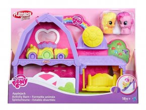 my little pony applejack activity barn hasbro domecek pro konicky