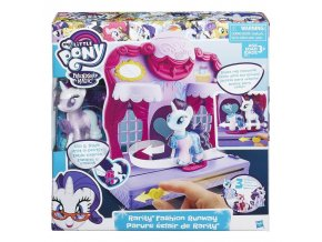 My Little Pony Rarity na prehlidkovem molu