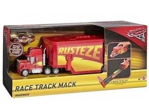 cars race track mack zavodni kamion mack se zavodni drahou