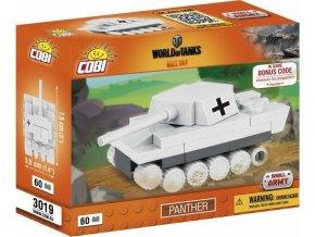 COBI 3019 World of Tanks Panther, nano model