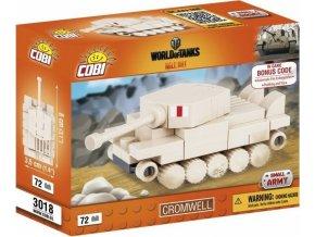 COBI 3018 World of Tanks Cromwell, nano model