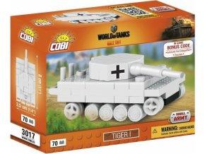 COBI 3017 World of Tanks Tiger I, nano model