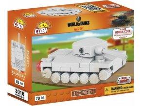 COBI 3016 World of Tanks Leopard I, nano model