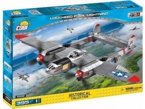 COBI 5539 SMALL ARMY - II WW Lockheed P-38L Lightning
