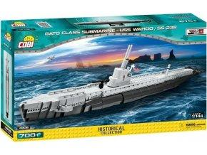 COBI 4806 SMALL ARMY - II WW Americká ponorka Gato USS Wahoo SS-238