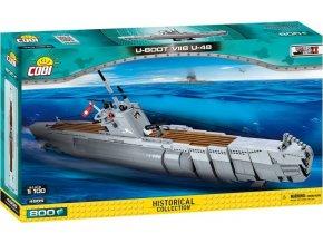 COBI 4805 SMALL ARMY - II WW Německá ponorka U-Boot U-48