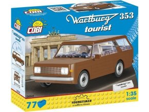 COBI 24543 Youngtimer - WARTBURG 353 Tourist 1:35