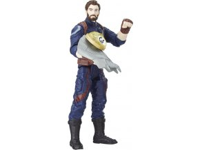 Avengers akční figurka Captain America s doplňky 15cm