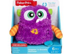 Fisher-Price Plyšová veselá příšerka