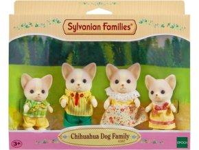 Sylvanian Families 4387 Rodinka čivav