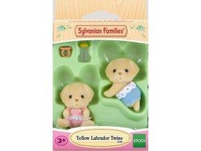 Sylvanian Families 5189 Labradoří dvojčátka
