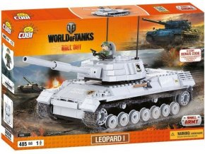 COBI 3009 World of Tanks Leopard I