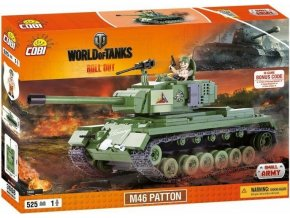 COBI 3008 World of Tanks M46 Patton