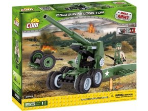 COBI 2369 SMALL ARMY - 155 mm Gun M1 Long Tom