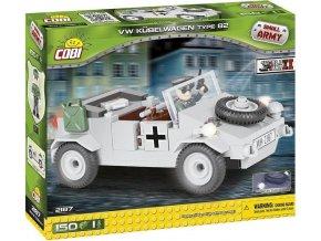 COBI 2187 SMALL ARMY - II WW VW Kubelwagen typ 82