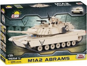 COBI 2608 SMALL ARMY - M1A2 Abrams