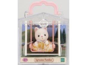 Sylvanian Families 5201 Minibox Kočička na houpačce