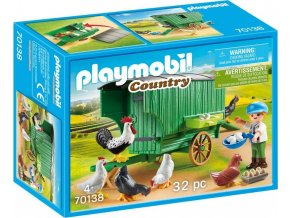 PLAYMOBIL® 70138 Kurník na kolečkách