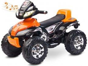 Elektrická čtyřkolka Toyz Cuatro orange