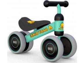 Dětské odrážedlo Baby Mix Baby Bike green