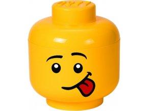 LEGO Box hlava Silly (kluk) velikost S