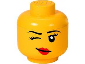 LEGO Box hlava Whinky (holka) velikost L