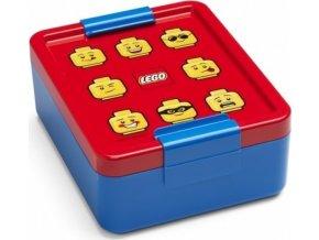 LEGO ICONIC Classic box na svačinu červená-modrá