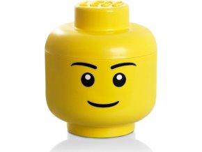LEGO Box hlava Chlapec velikost S