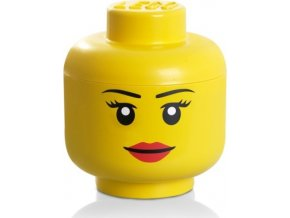 LEGO Box hlava Dívka velikost S