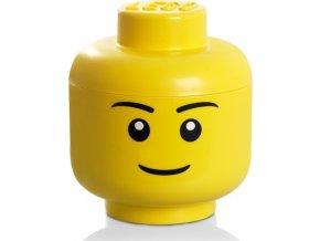 LEGO Box hlava Chlapec velikost L