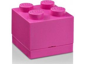 LEGO Mini box 45x45x42 růžový