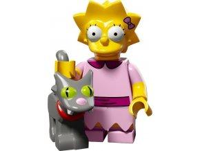 LEGO Minifigurky Simpsons 71009 Lisa