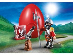PLAYMOBIL 70086 Rytíř s kanonem, vajíčko