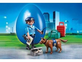 PLAYMOBIL® 70085 Policista se psem, vajíčko