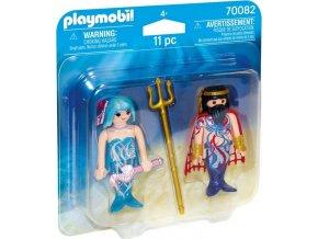 PLAYMOBIL® 70082 Neptun a mořská víla