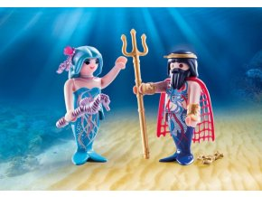 PLAYMOBIL 70082 Neptun a mořská víla