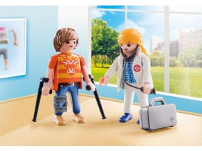 PLAYMOBIL® 70079 Doktorka a pacient