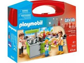 PLAYMOBIL® 9543 Přenosný kufřík Rodinná kuchyň