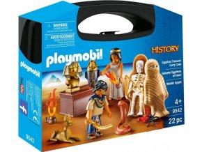 Playmobil 9542 Přenosný kufřík Egyptský poklad